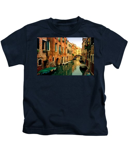 Reflections Of Venice Kids T-Shirt