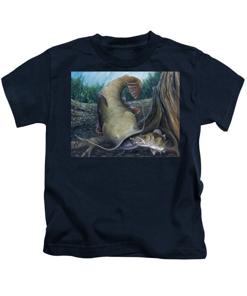 Top Dog Kids T-Shirt by Catfish Lawrence