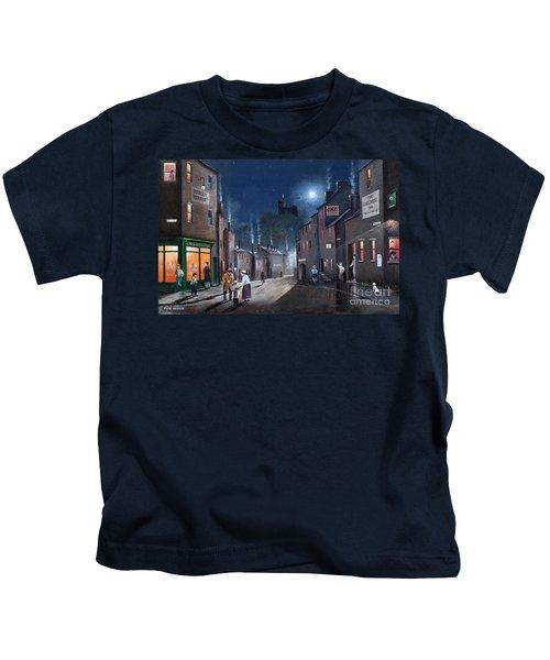 Tower Street Dudley C1930s Kids T-Shirt