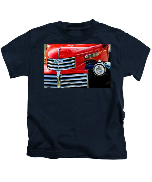 Kids T-Shirt featuring the photograph 1942 Gmc  Pickup Truck by Jill Reger