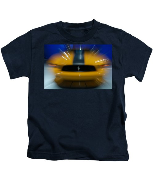 2013 Ford Mustang Kids T-Shirt
