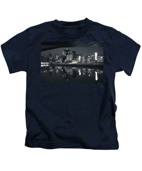 Guggenheim Museum Designed By Frank Kids T-Shirt