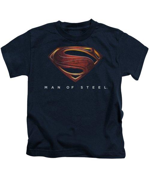 Man Of Steel - Mos New Logo Kids T-Shirt