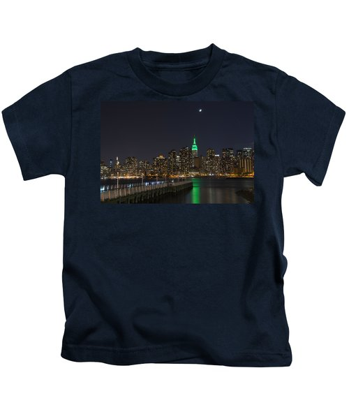 View From Gantry Plaza State Park Kids T-Shirt