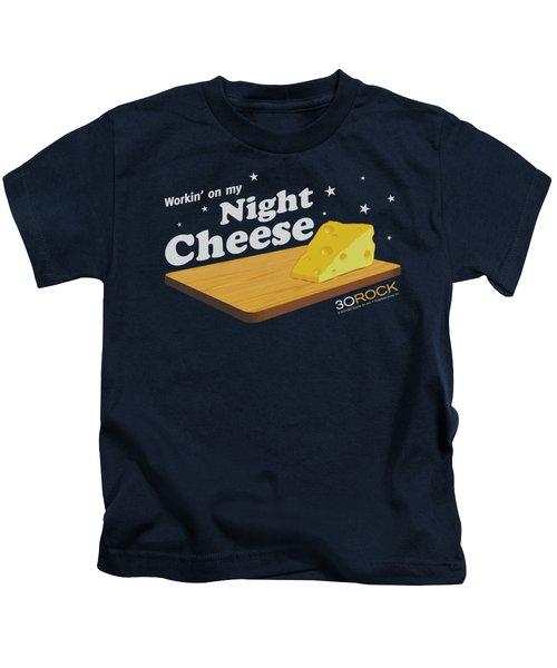 30 Rock - Night Cheese Kids T-Shirt