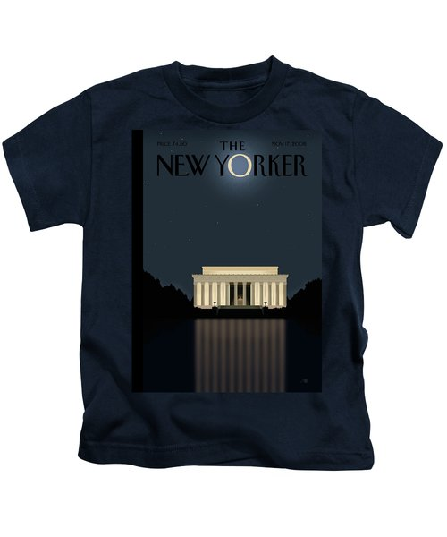 New Yorker November 17th, 2008 Kids T-Shirt