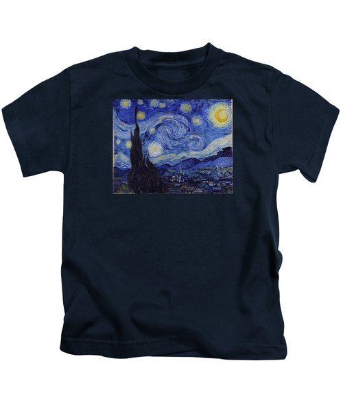 Starry Night Kids T-Shirt