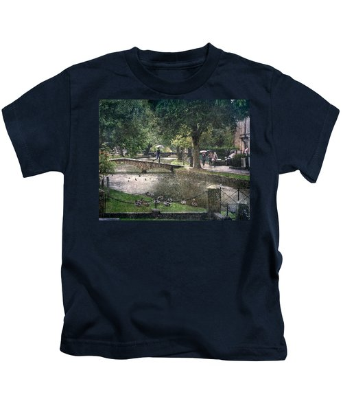 A Bit Of Rain Kids T-Shirt