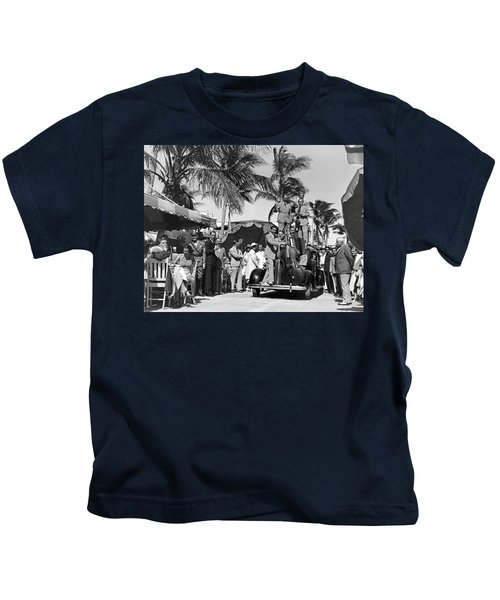 A Portable Jazz Band In Miami Kids T-Shirt