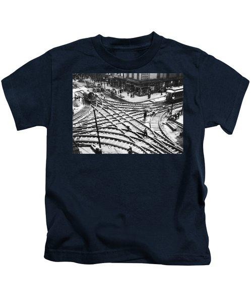 A Streetcar Intersection Kids T-Shirt