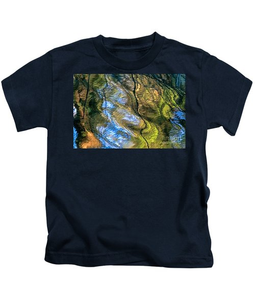 Abstract Of Nature Kids T-Shirt