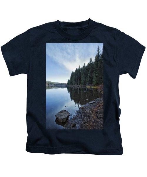Afternoon At Clear Lake Kids T-Shirt