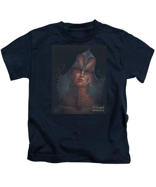 Alien Portrait Il Kids T-Shirt