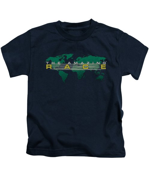 Amazing Race - Around The World Kids T-Shirt