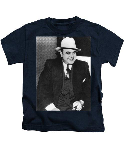 American Gangster Al Capone Kids T-Shirt