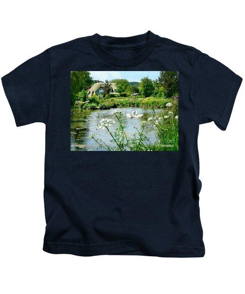An English Cottage Kids T-Shirt