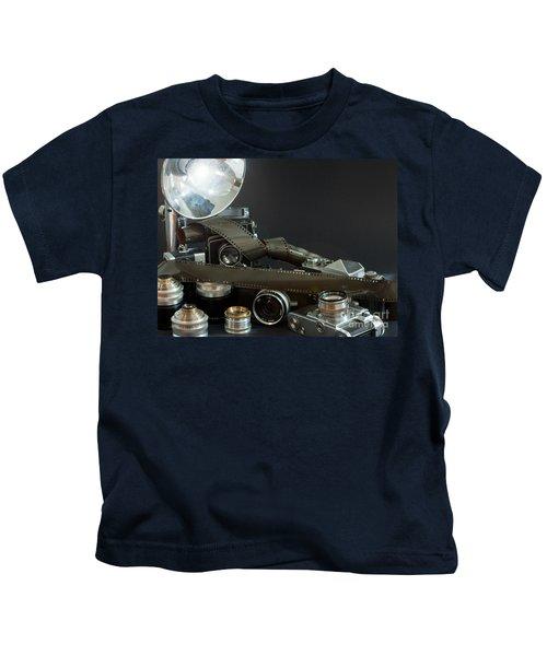 Antique Cameras Kids T-Shirt