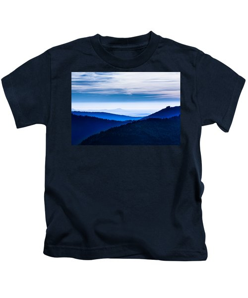 As Far As Our Eye Can See Kids T-Shirt