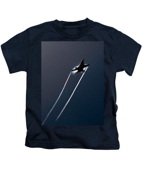 Ascending To The Heavens Kids T-Shirt