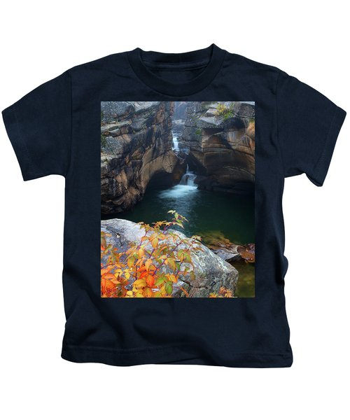 Autumn At The Grotto Kids T-Shirt