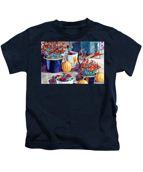 Autumn Still Life Kids T-Shirt