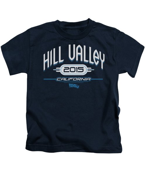 Back To The Future II - Hill Valley 2015 Kids T-Shirt