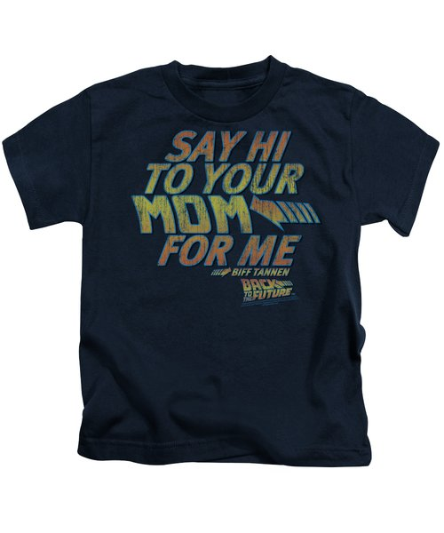 Back To The Future - Say Hi Kids T-Shirt