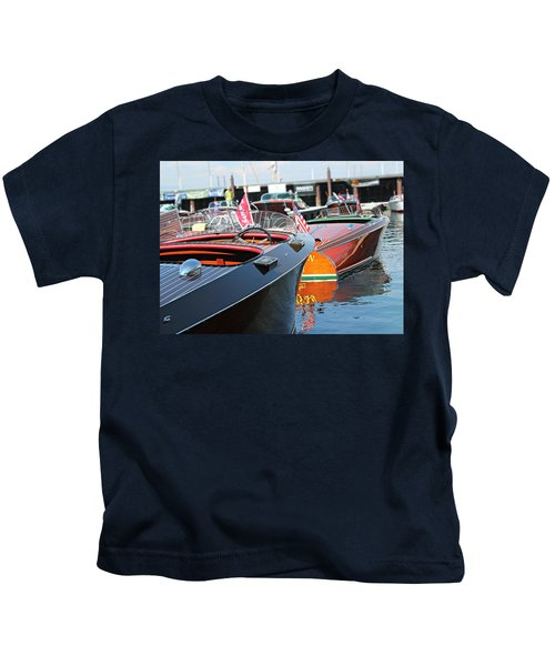 Barrelbacks At Tahoe Kids T-Shirt