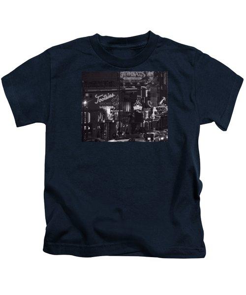 Bars On Broadway Nashville Kids T-Shirt