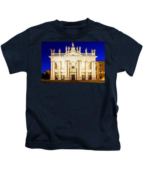 Basilica Di San Giovanni In Laterano Kids T-Shirt