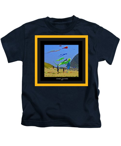 Beach Kids 4 Kites Kids T-Shirt