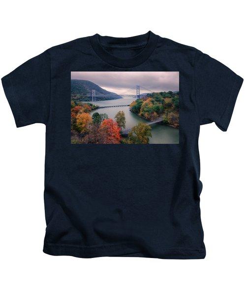 Bear Mountain Bridge Kids T-Shirt