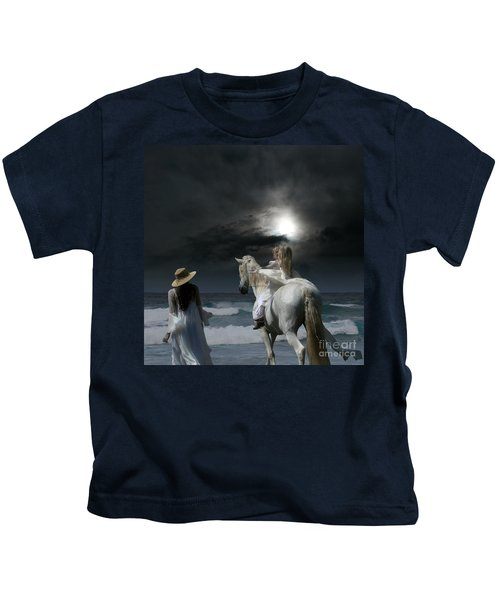 Beneath The Illusion In Colour Kids T-Shirt