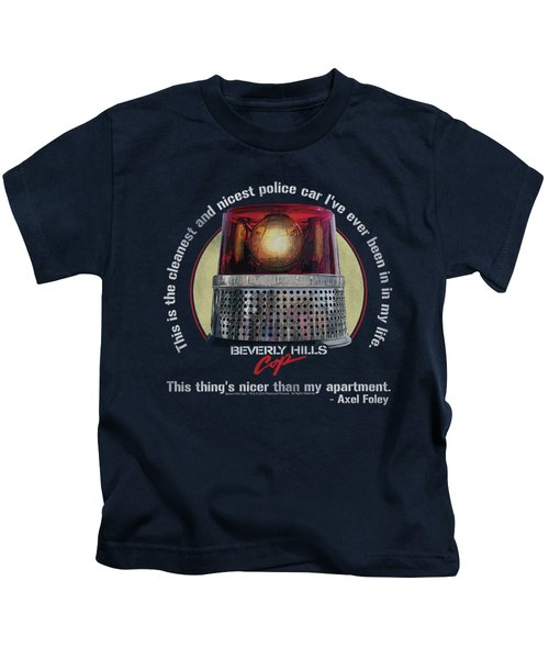 Bhc - Nicest Police Car Kids T-Shirt