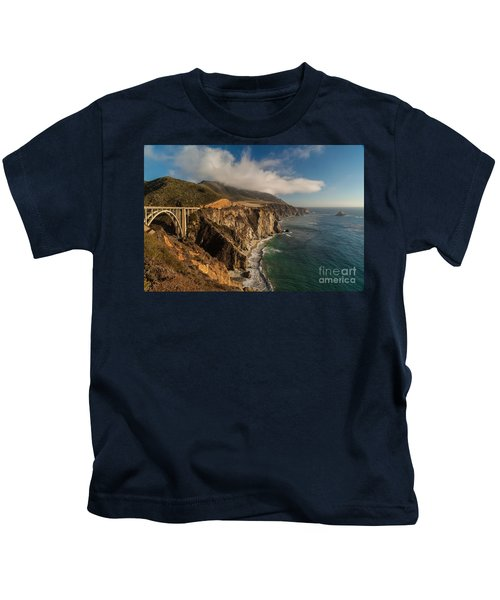 Bixby Coastal Drive Kids T-Shirt