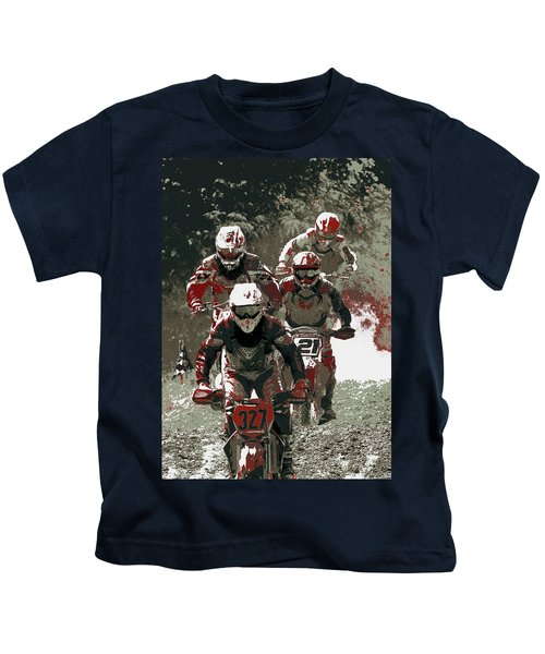 Blood Sweat And Dirt Kids T-Shirt