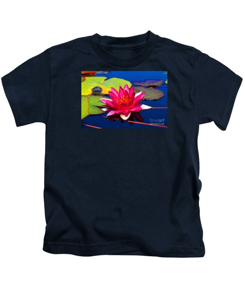 Blooming Lily Kids T-Shirt