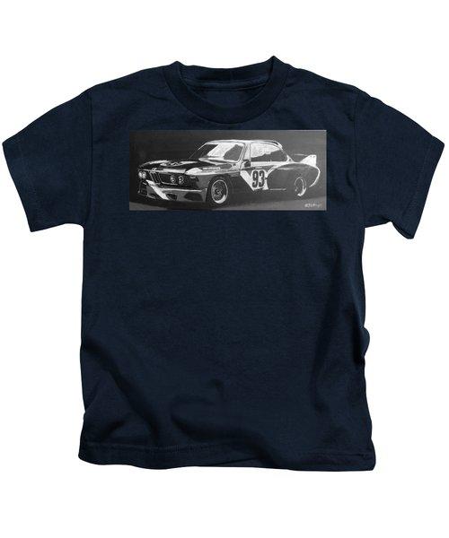 Bmw 3.0 Csl Alexander Calder Art Car Kids T-Shirt