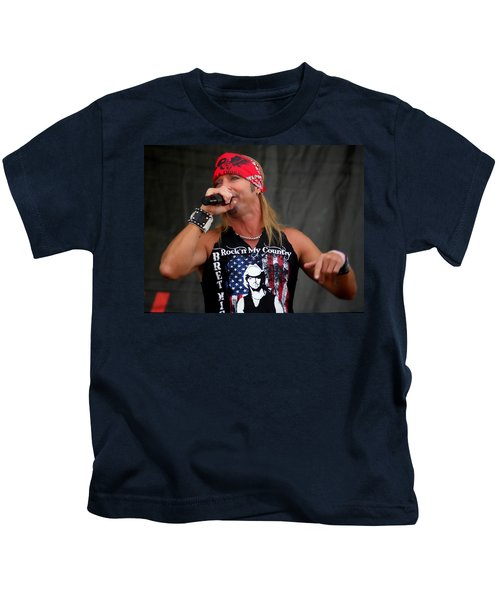 Bret Michaels In Philly Kids T-Shirt
