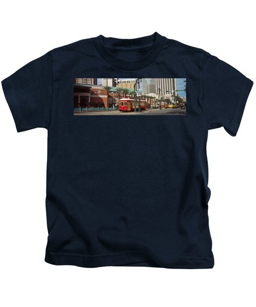 Buildings In A City, Canal Street Kids T-Shirt