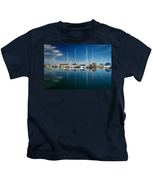 Calm Masts Kids T-Shirt