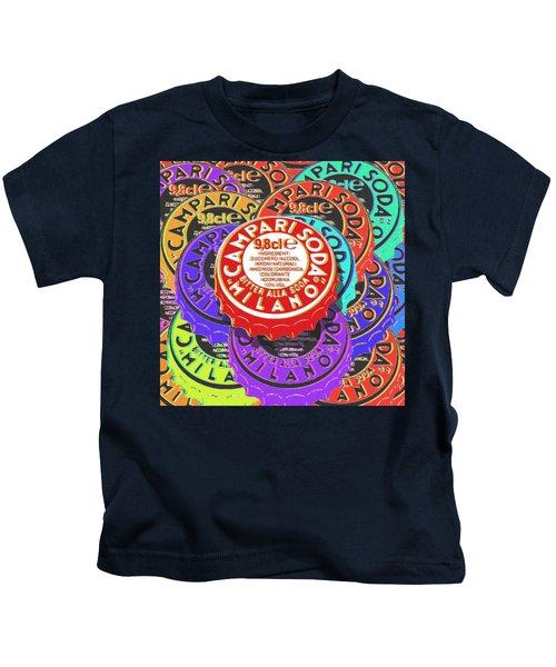 Campari Soda Caps Kids T-Shirt