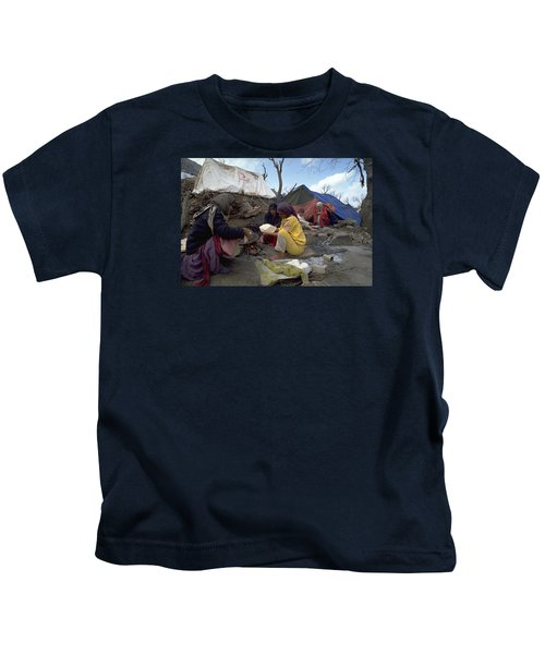 Camping In Iraq Kids T-Shirt