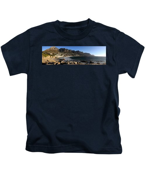 Camps Bay With The Twelve Apostles Kids T-Shirt