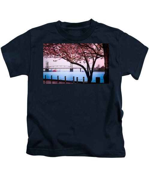 Cape Fear Of Wilmington Kids T-Shirt