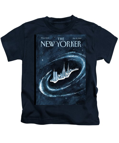Center Of The Universe Kids T-Shirt