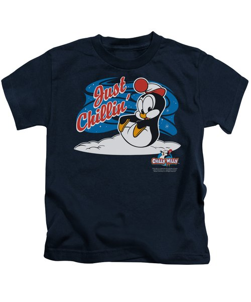 Chilly Willy - Just Chillin Kids T-Shirt