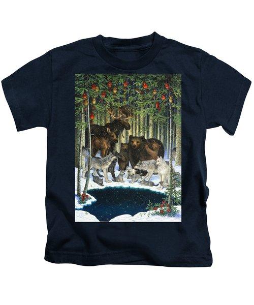 Christmas Gathering Kids T-Shirt