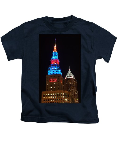Cleveland Towers Kids T-Shirt