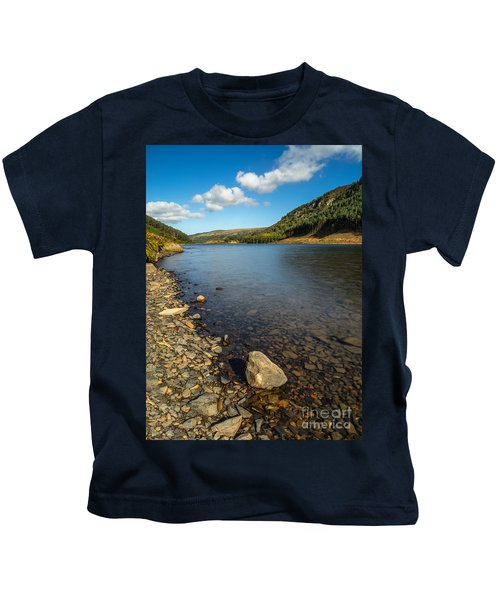Clouds Over Lake  Kids T-Shirt
